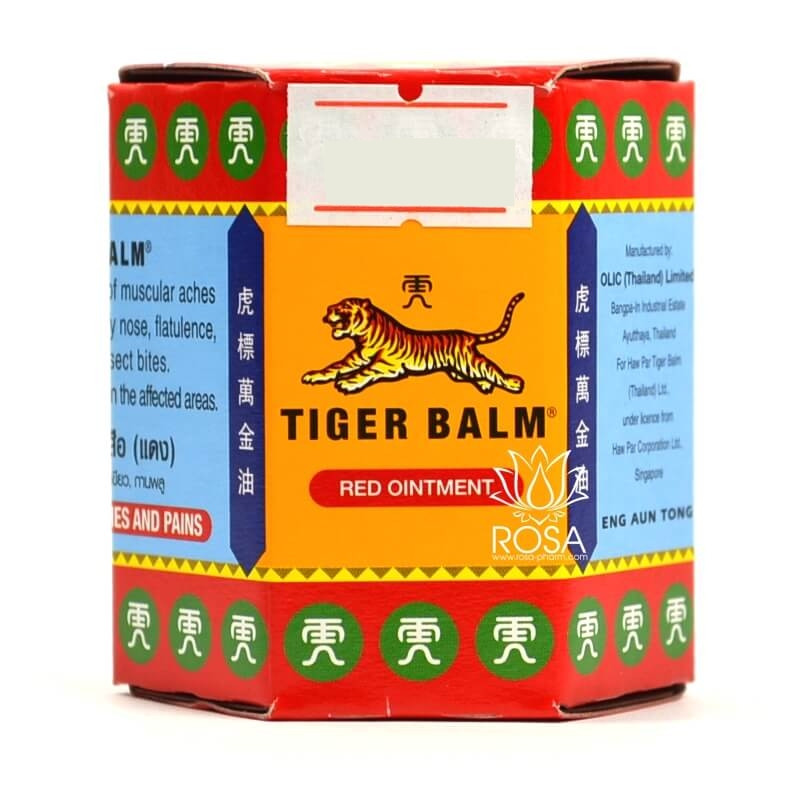 Красный Тигровый бальзам (Tiger Balm Red Ointment), 30 грамм
