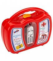 Детский игровой набор доктора в кейсе с мобильным телефоном Klein 4350, фото 1