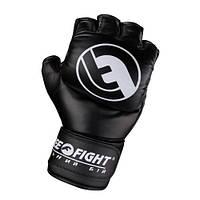 Перчатки для боев Free-Fight черные (6, 7 унций), фото 1