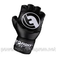 Перчатки для боев Free-Fight черные (6, 7 унций)