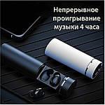 Беспроводные наушники блютуз гарнитура Bluetooth 4.2 наушники Wi-pods X7 ОРИГИНАЛ самсунг xiaomi, apple черн, фото 5
