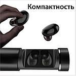 Беспроводные наушники блютуз гарнитура Bluetooth 4.2 наушники Wi-pods X7 ОРИГИНАЛ самсунг xiaomi, apple черн, фото 9