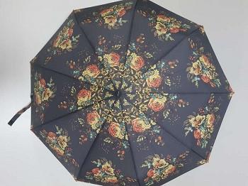Зонт женский автомат с рисунком арт. К645 / 7410