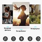 Беспроводные наушники блютуз гарнитура Bluetooth 4.2 наушники Wi-pods X7 ОРИГИНАЛ самсунг xiaomi, apple черн, фото 8