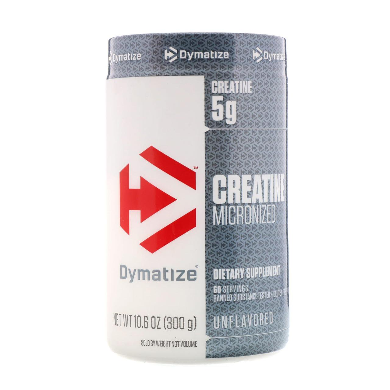 Creatine Micronized (300 g, unflavored) Dymatize