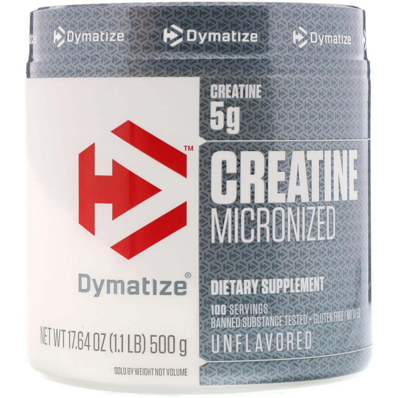 Creatine Micronized (500 g, unflavored) Dymatize