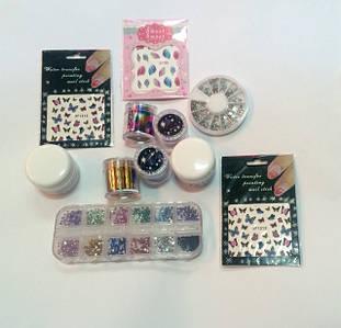Материалы для декора и дизайна ногтей