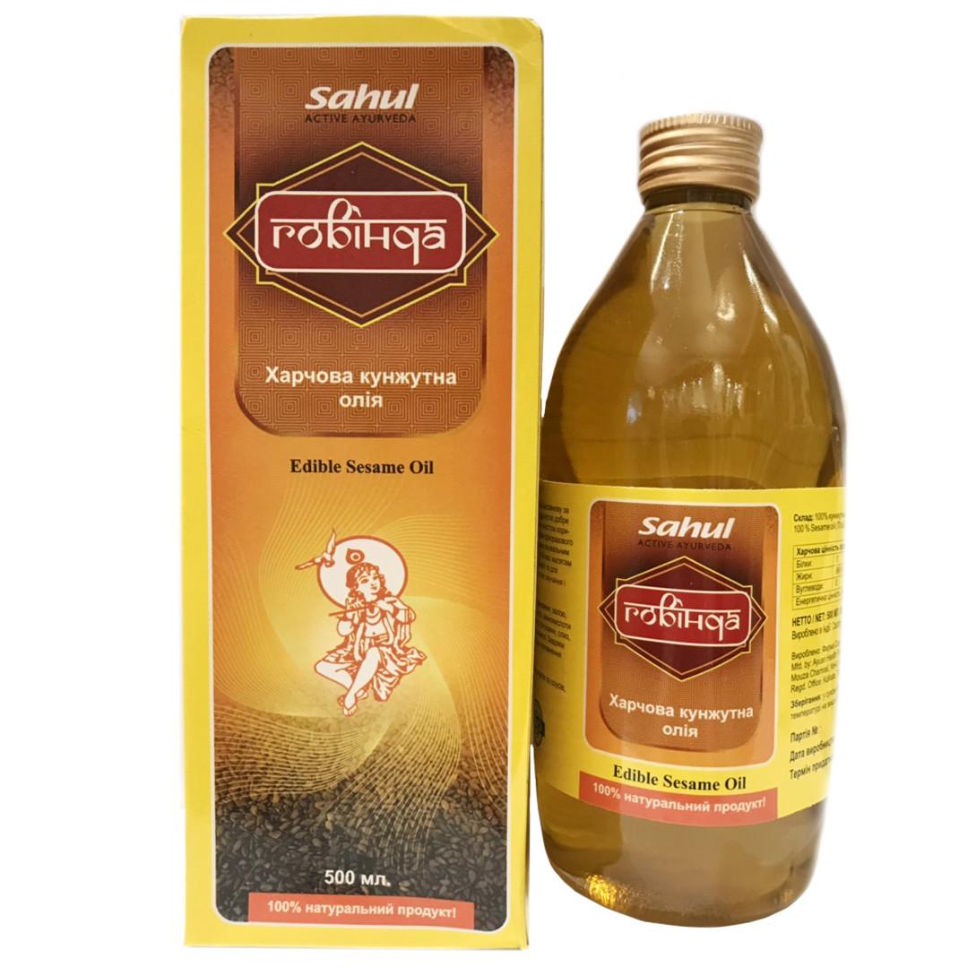 Кунжутное масло Говинда (Sahul), 500 мл