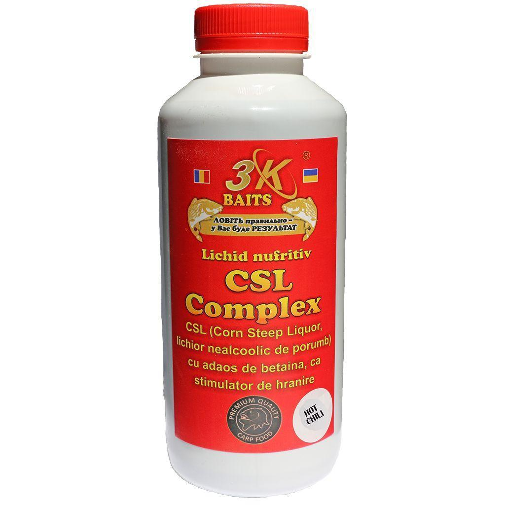 "Ликер 3-K Baits кукурузный ""CSL Complex"" (слива) 500мл /1ящ=12шт/"