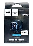 Захисне Скло Veron для Apple Watch 38мм Nano ser. UV Full Glue Ультра фіолет Прозоре (123188)