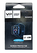 Захисне Скло Veron для Apple Watch 42мм Nano ser. UV Full Glue Ультра фіолет Прозоре (123190)