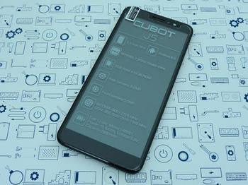 Дисплей Cubot J5 модуль черный Сервисный оригинал