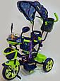 Велосипед трехколесный с ручкой WS-828R-2 (NP) BOY, фото 2