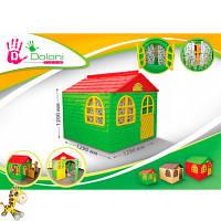 Дом со шторками; 1280330860см, артикул 02550/3 DOLONI-TOYS