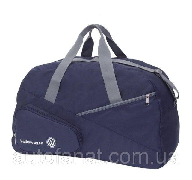 Оригинальная складная дорожная сумка Volkswagen Foldable Travel Bag, Blue (MFS15792L0)