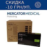 Перчатки нитриловые Mercator Medical NITRYLEX BLACK 10 УП. (1000 шт.) S