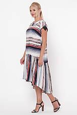 Сукня-трапеція літній для повних Герда, фото 2