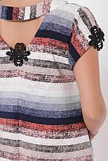 Платье-трапеция летнее для полных Герда, фото 3