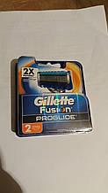 Сменные картриджи Gillette Fusion ProGlide (2шт.)