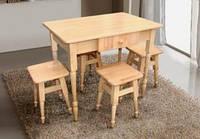 Комплект кухонный стол+4 табур.