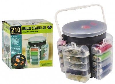 Швейный набор Deluxe Sewing Kit 210 предметов
