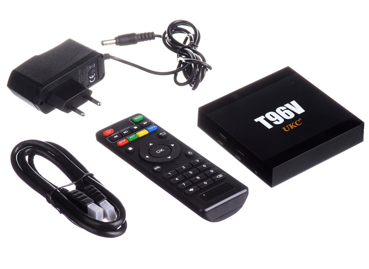 "ТВ-приставка Smart tv box ""UKC T96V"" 2gb/16gb S905W+BT ORIGINAL"