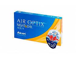 Линзы ежемесячной замены Air Optix Night&Day Aqua