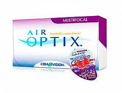 Линзы ежемесячной замены Air Optix Aqua Multifocal