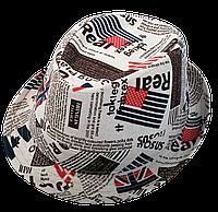 Шляпа челентанка комби REAL
