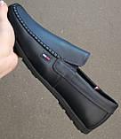 Style! Tommy Hilfiger! Мужские в стиле Томми Хилфигер синие замшевые мокасины с пряжкой, фото 8