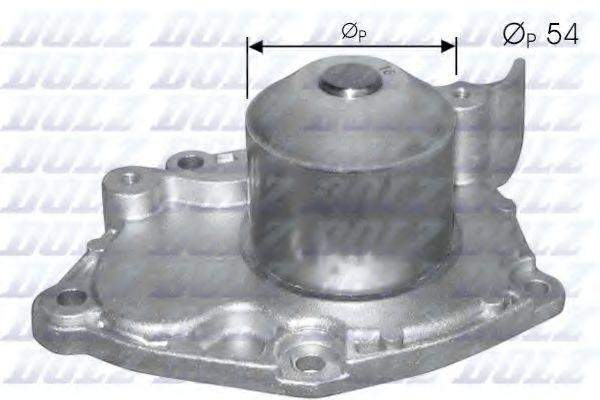 Водяной насос на Renault Trafic  01->  1.9dCi  —  Dolz (Германия)  -  R219