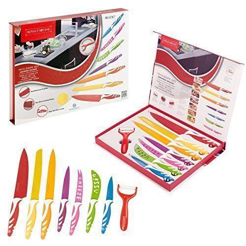 Набор ножей Royalty Line 8 предметов RL-COL7M
