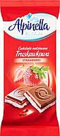 Шоколад Alpinella Truskawkowa