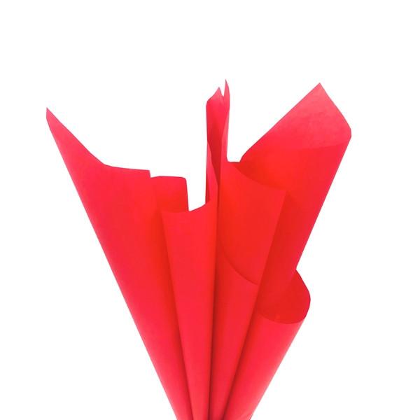 Папір тишею червона