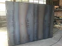 Ворота гаражные 2,7х2,0 м металл 1,2 мм в двойной рамке