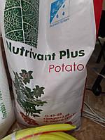 Нутривант картофель (Nutrivant Plus) 0-43-28+2MgO+ME - 25 кг