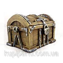 Копилка Сундучок для денег КГ609