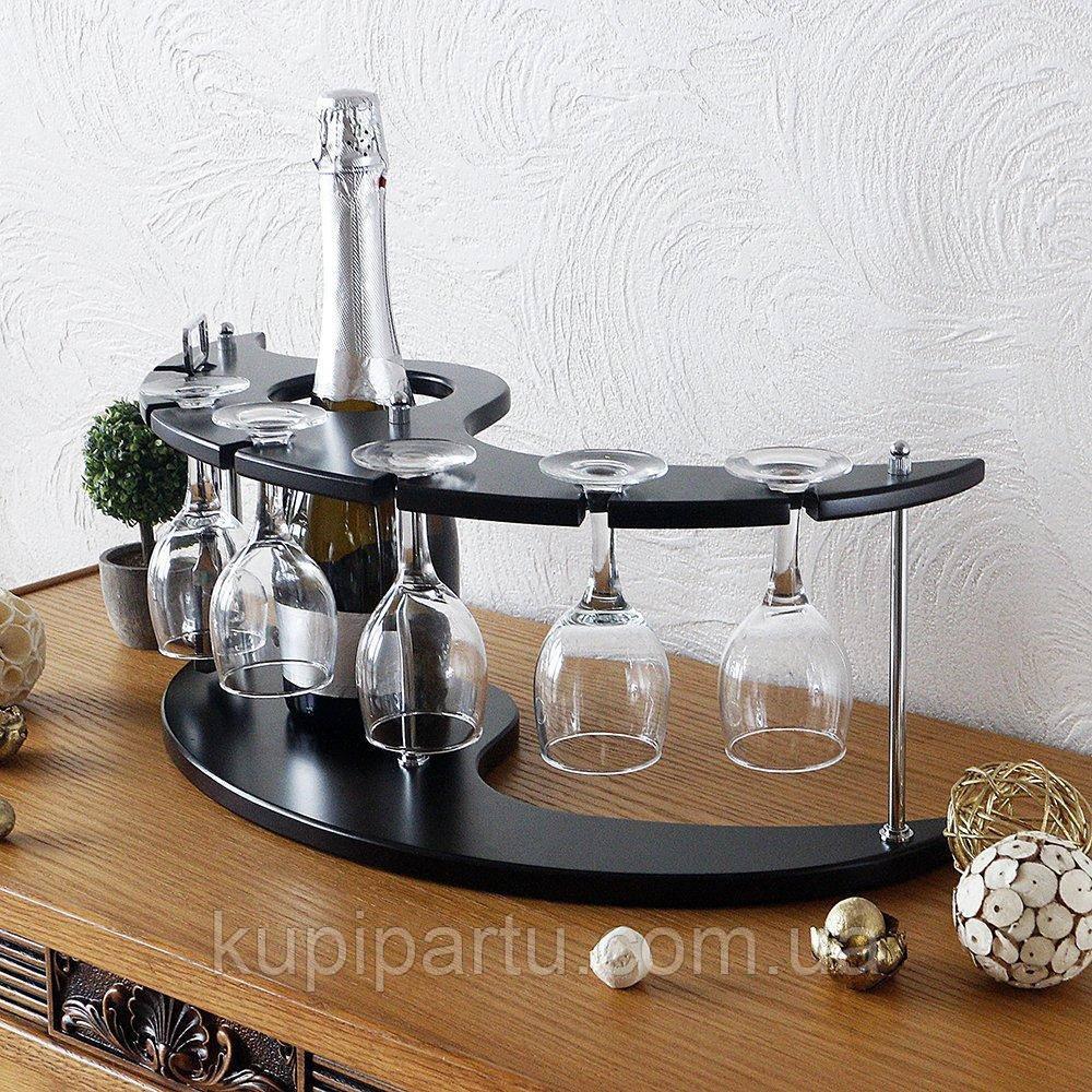 Набор для вина на 5 рюмок-Луна SS09185