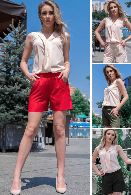 Короткі шорти Клайм