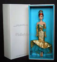 Коллекционная кукла Барби с Новым Годом Силкстоун / Happy New Year Barbie Doll, фото 8