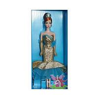 Коллекционная кукла Барби с Новым Годом Силкстоун / Happy New Year Barbie Doll, фото 3