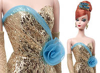 Коллекционная кукла Барби с Новым Годом Силкстоун / Happy New Year Barbie Doll, фото 4
