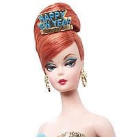 Коллекционная кукла Барби с Новым Годом Силкстоун / Happy New Year Barbie Doll, фото 6