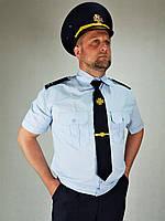 Рубашка шведка форменная ДСНС короткий рукав меланж