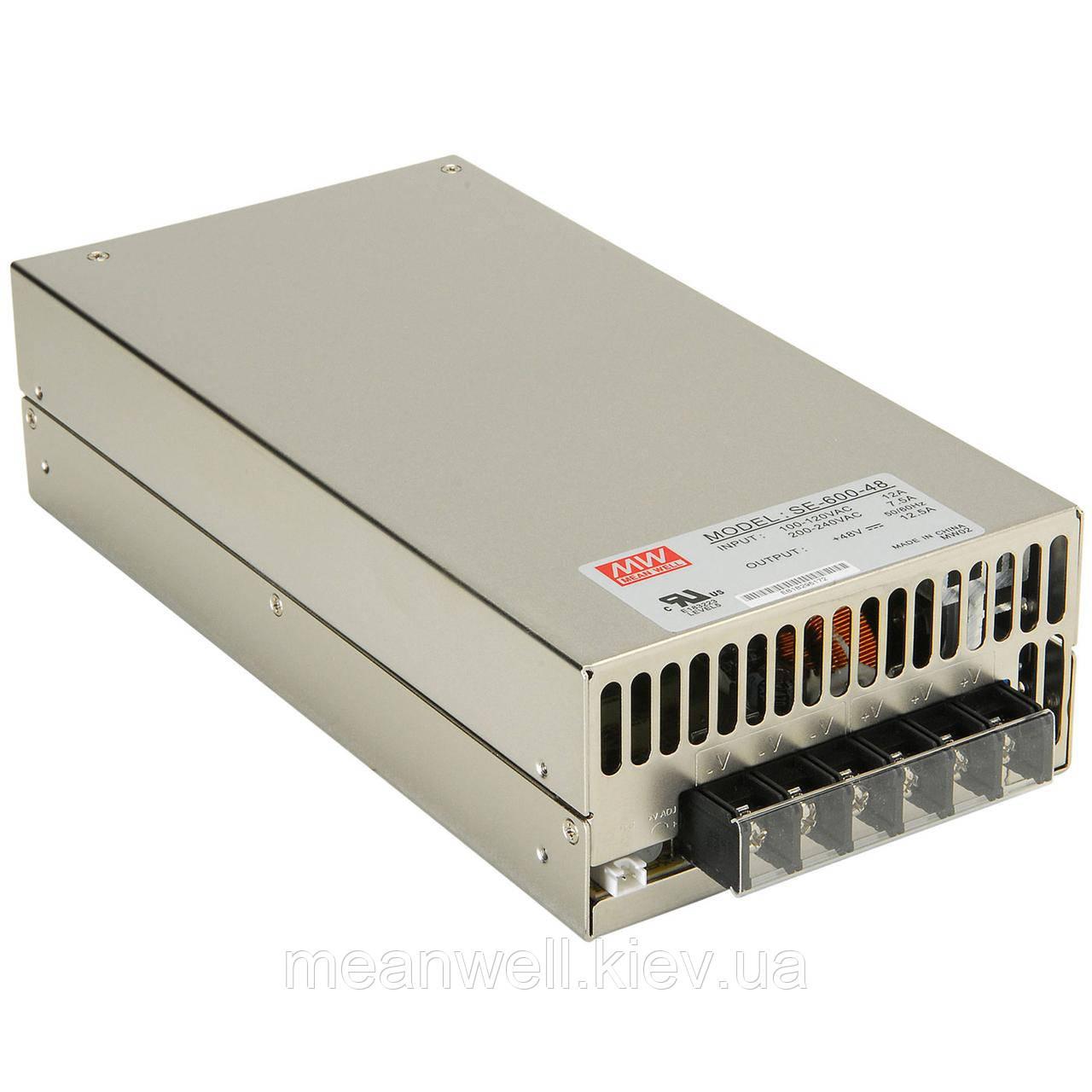 SE-600-24 Блок питания Mean Well  600 вт, 24 в, 25 А
