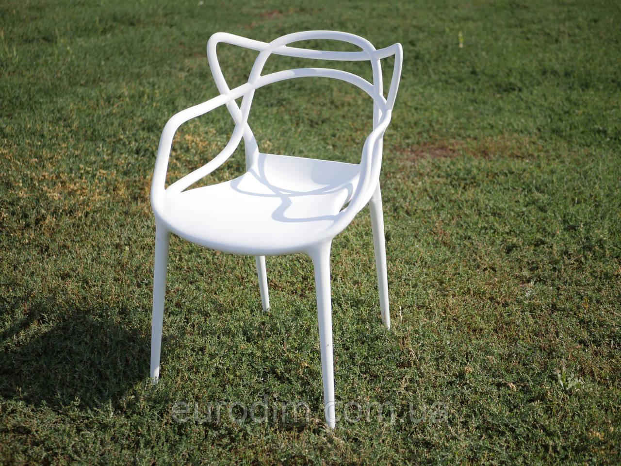 Стул пластиковый FLOWER PP-601 white