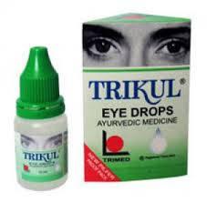 Трикул капли для глаз 10 мл
