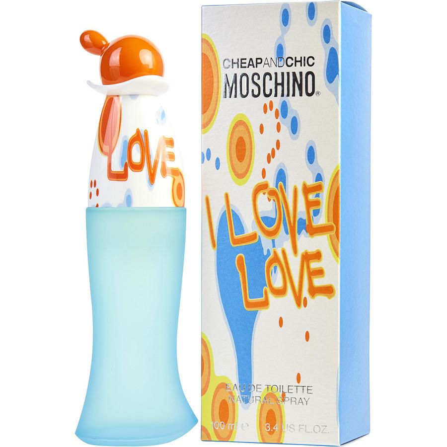 Парфюмерная вода женская (духи)  Moschino I Love Love 100 мл