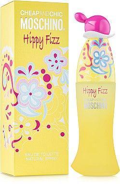 Парфюмированная вода женская (духи)  Moschino Cheap & Chic Hippy Fizz 100 мл
