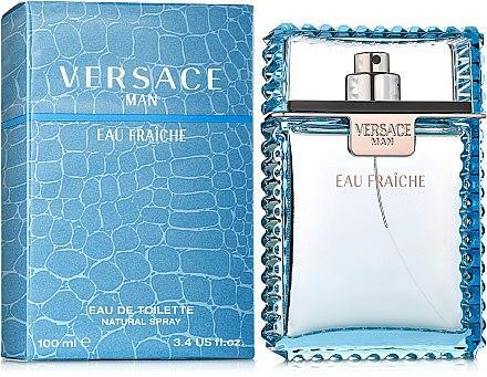 Туалетная вода мужская (духи)  Versace Man Eau Fraiche 100 мл